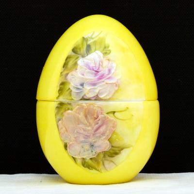Uovo a scatola giallo