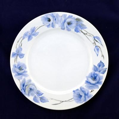 Piatto da portata rose blu