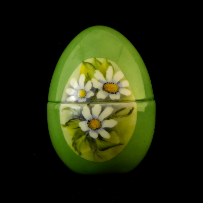 Uovo a scatola verde