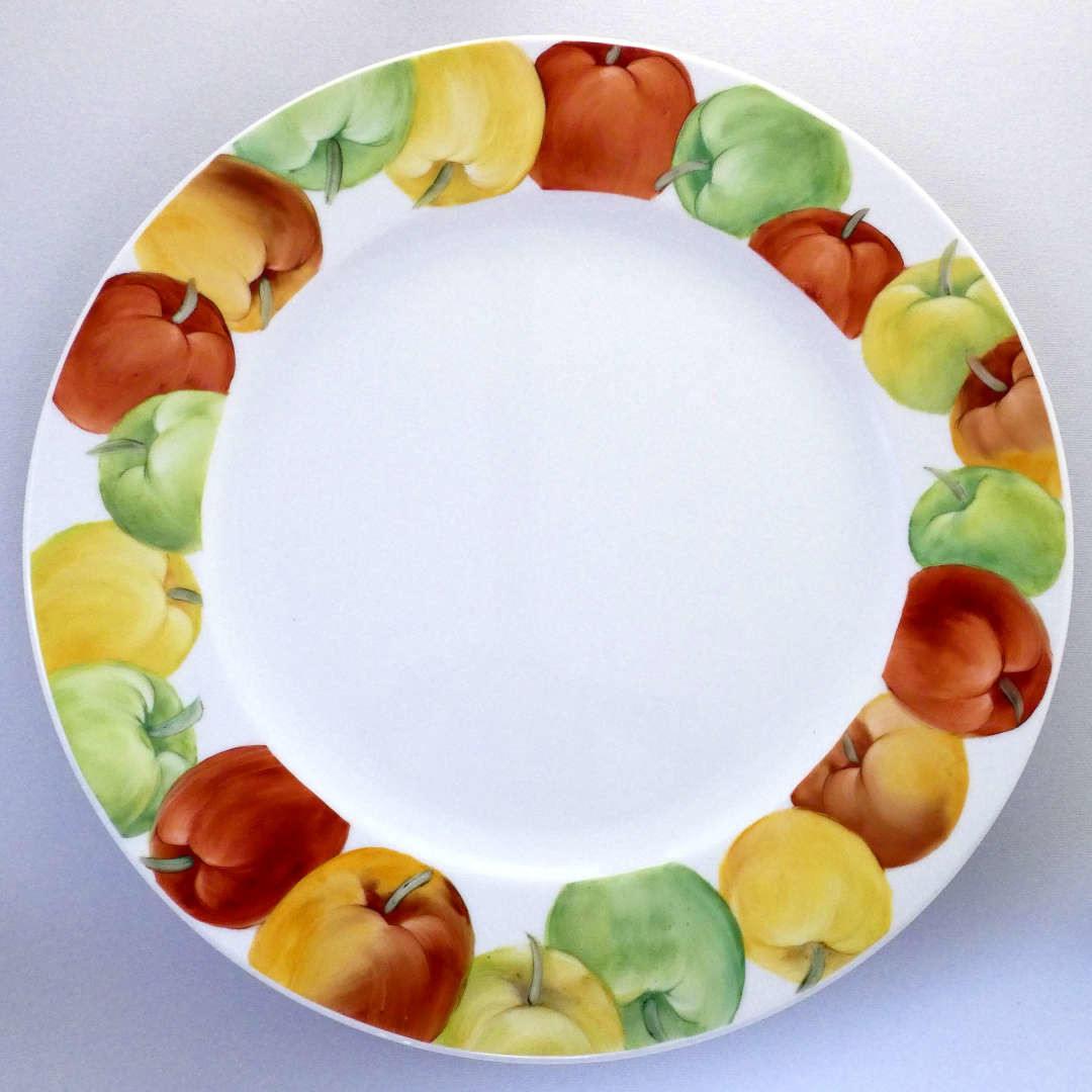 Piatto da portata mele